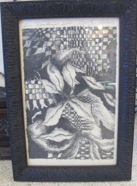 Grid Chiless By Susan Greenbaum, 2010, Black & White,