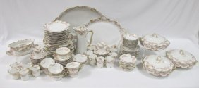 Theodore Haviland Limoges Dinner Set To Include: 12