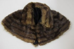 Vintage Ladies Mink Collar