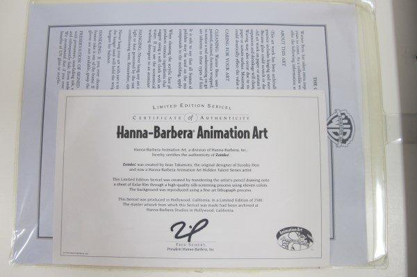"""Scooby Doo & Shaggy """"Zoinks!"""", Hanna Barbera Animation - 3"""