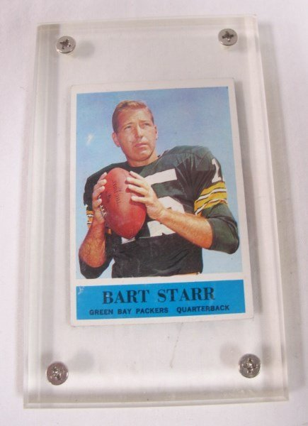 Drew Brees Graded Rookie Card and 1961 Bart Starr Card - 2