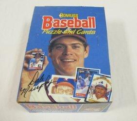 Donruss Baseball Card Set
