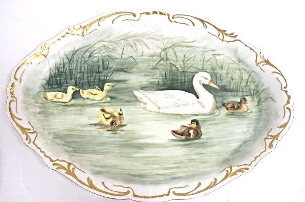 Theodore Haviland Limoges, France Hand Painted Duck
