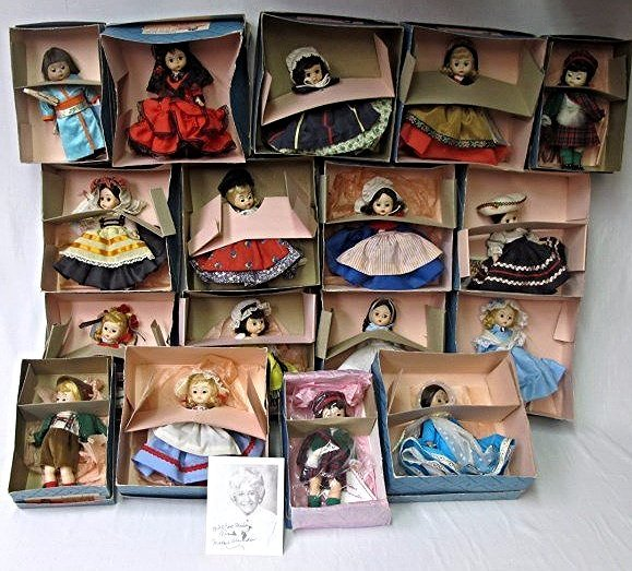 Collection of Madame Alexander Dolls and Autogrqph