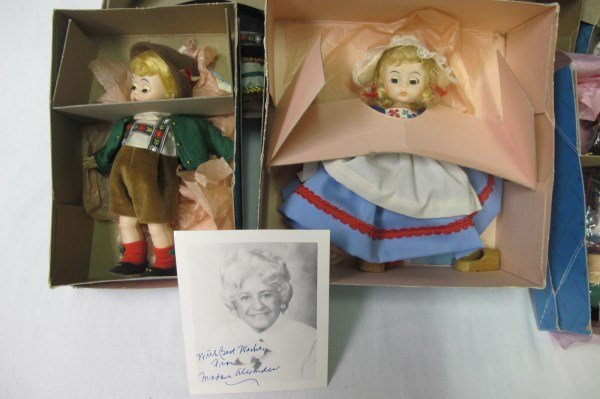 Collection of Madame Alexander Dolls and Autogrqph - 2