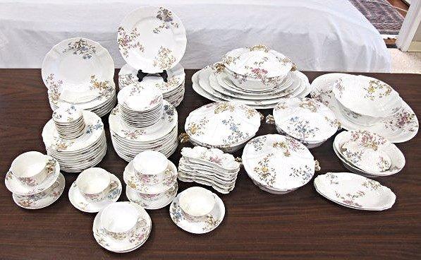 Limoges M. Redon Pattern Number 3812 Dinner Set
