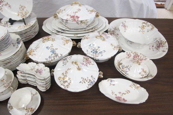 Limoges M. Redon Pattern Number 3812 Dinner Set - 2