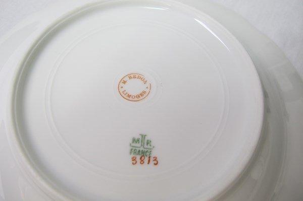 Limoges M. Redon Pattern Number 3812 Dinner Set - 6