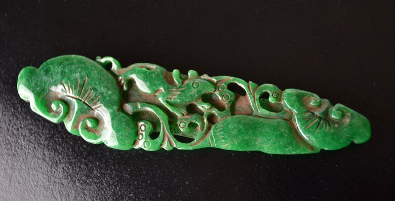 16: CARVED JADEITE RUYI