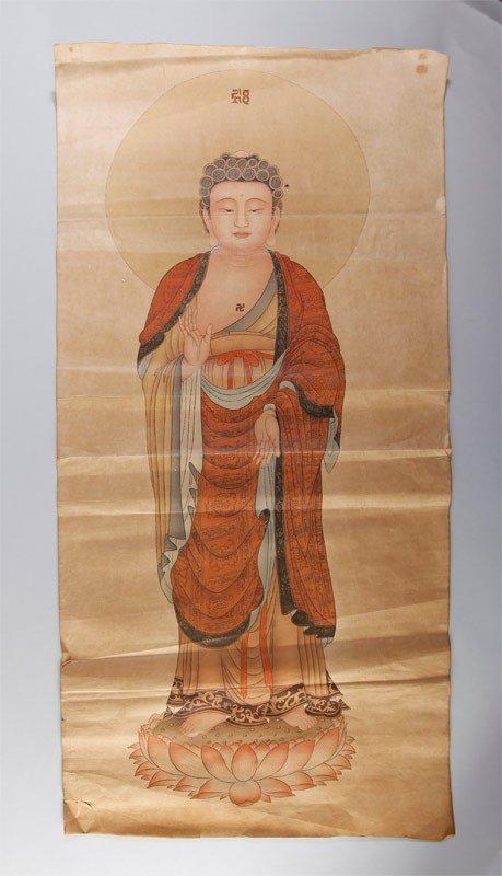 5: CHINESE PAINTING OF BUDDHA