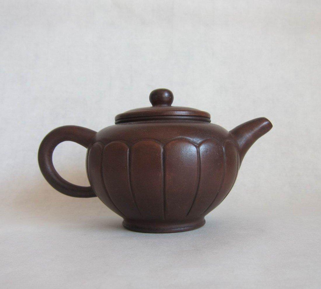 8: CHINESE YIXING ZI SHA TEA POT