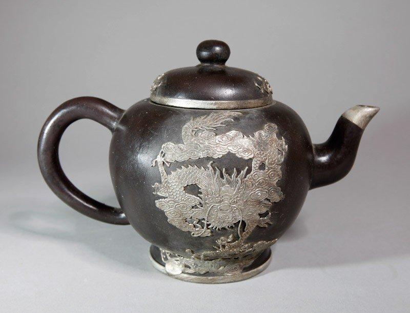 15A: CHINESE ZI SHA TEA POT