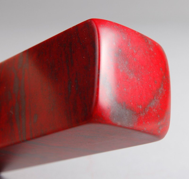 5: CHINESE CHICKEN BLOOD SOAPSTONE SEAL - 4