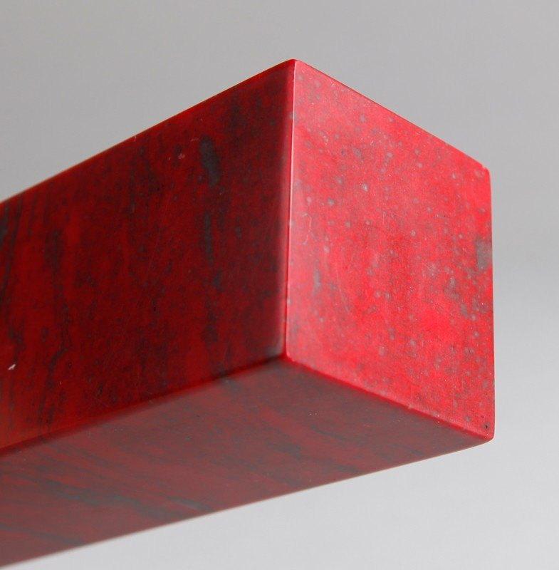 5: CHINESE CHICKEN BLOOD SOAPSTONE SEAL - 5