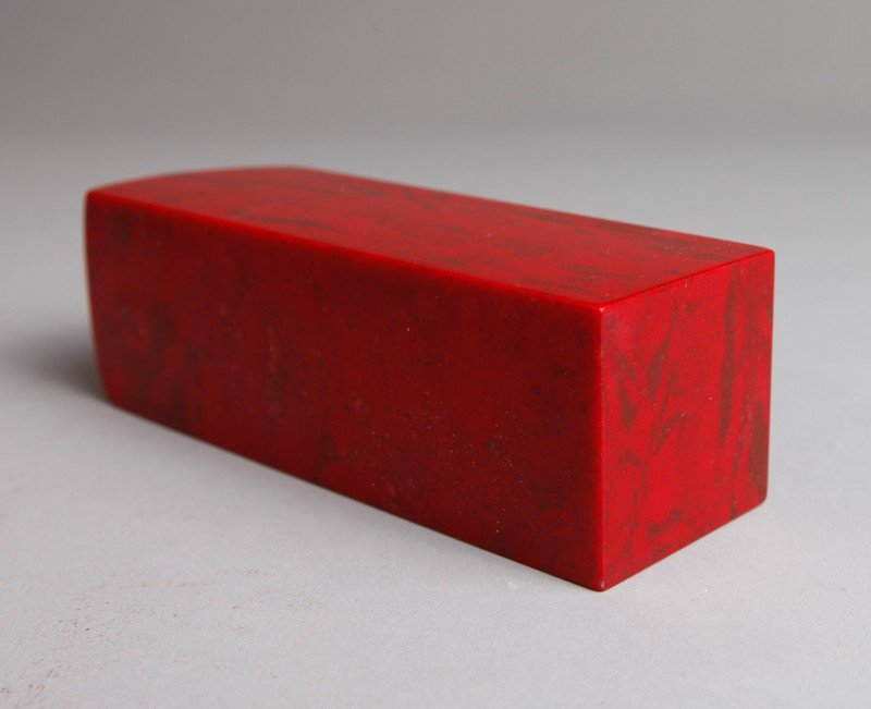 11: CHINESE CHICKEN BLOOD SOAPSTONE SEAL - 4