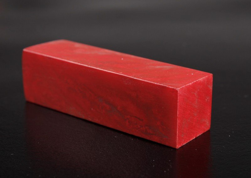 12: CHINESE CHICKEN BLOOD SOAPSTONE SEAL - 3
