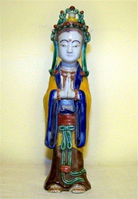 CHINESE 5 COLOR GUAN YIN