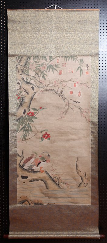 2: CHINESE SCROLL PAINTING BY JI LU (LYU)