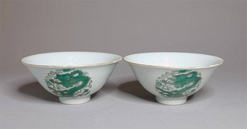 1: PAIR OF CHINESE PORCELAIN BOWLS