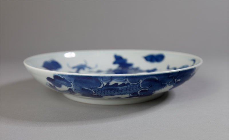 3: CHINESE BLUE AND WHITE PORCELAIN BOWL