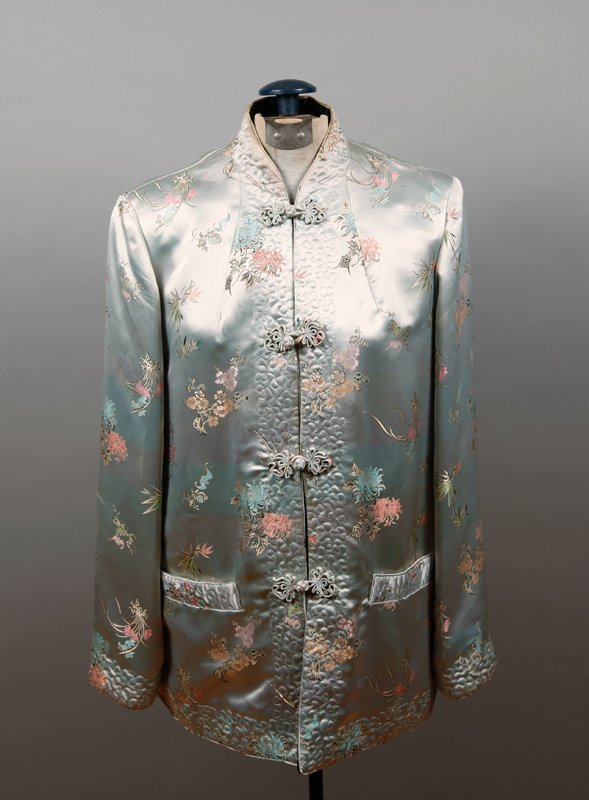 7: 1950'S CHINESE SILK EMBROIDERED JACKET