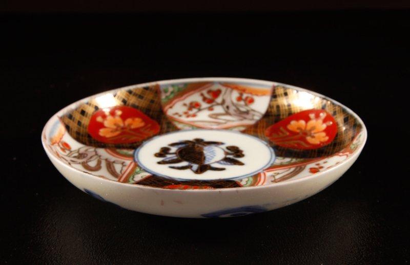 3: Japanese Imari Porcelain Dish