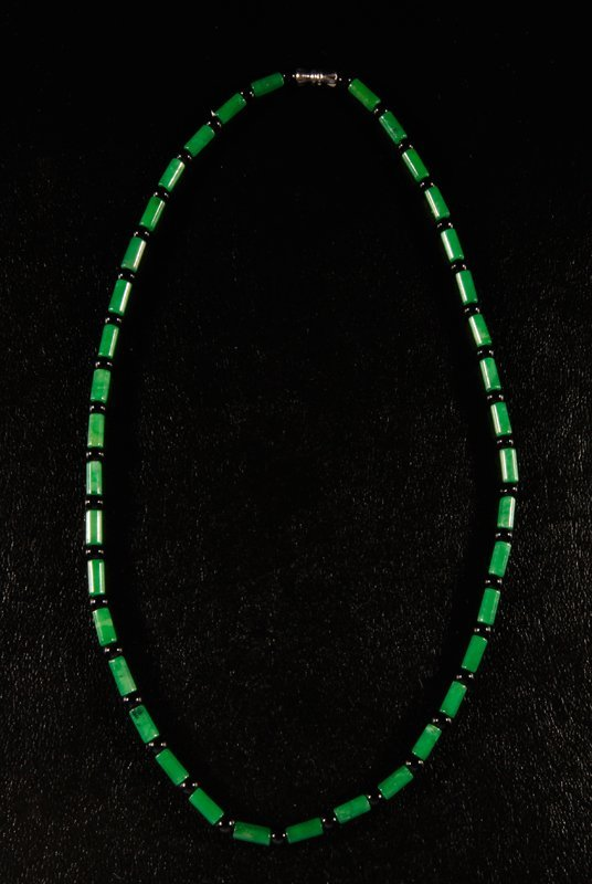 6: Chinese Hardstone Beaded Necklace
