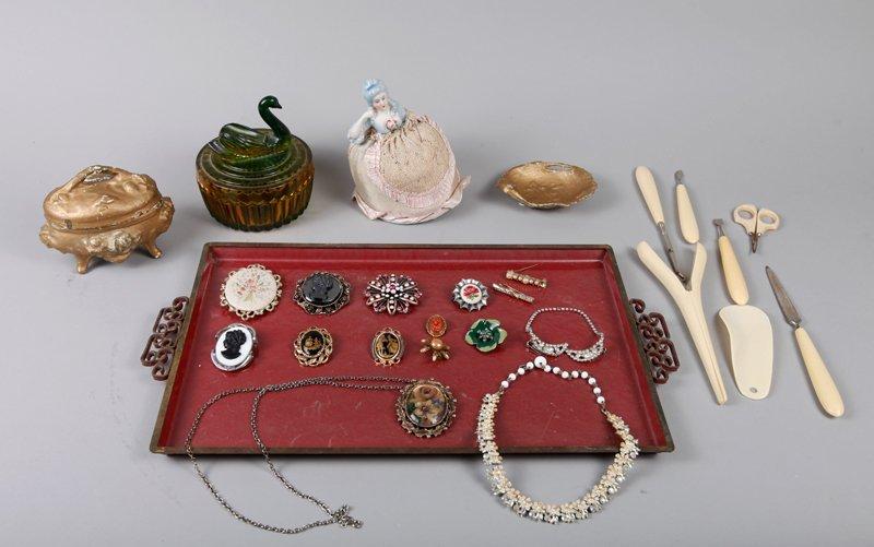8: Costume Jewelry & Vanity Articles