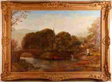 63: George Frederic Watts, Oil Painting on Canvas