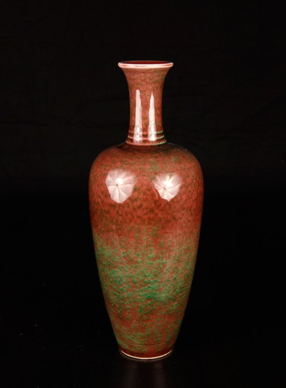 324: Chinese Jiang Dou Porcelain Vase