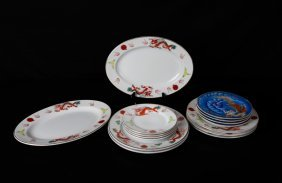 15 Piece Japanese Porcelain