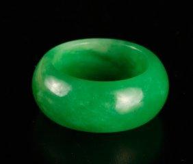 Chinese Jade or Hardstone Ring