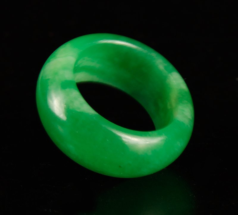 Chinese Jade or Hardstone Ring - 2