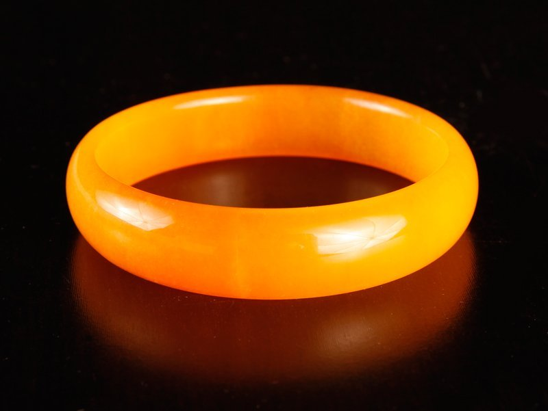 Chinese Hardstone Bangle