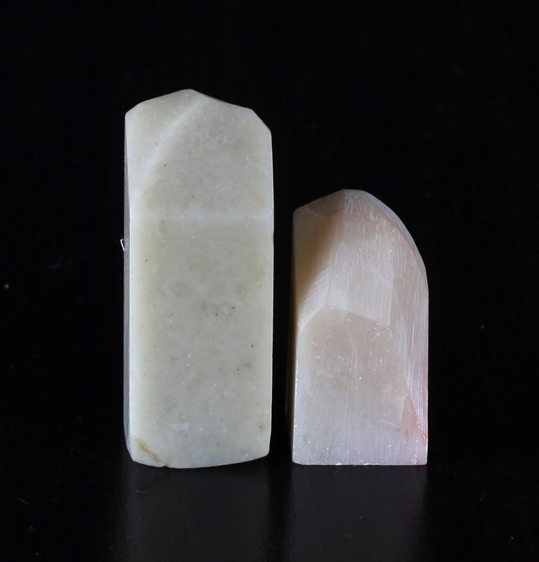 2 Chinese Soapstone Seals