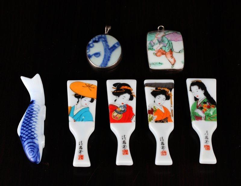 7 Asian Porcelain Pieces