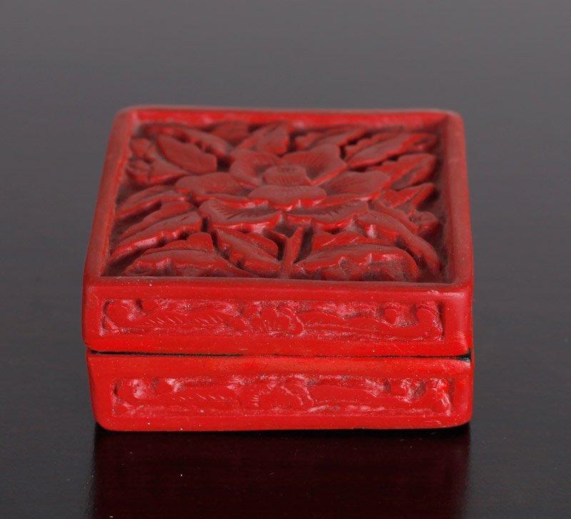 Chinese Molded Box