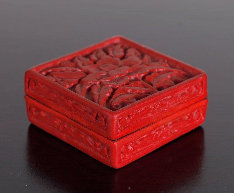 Chinese Molded Box - 2