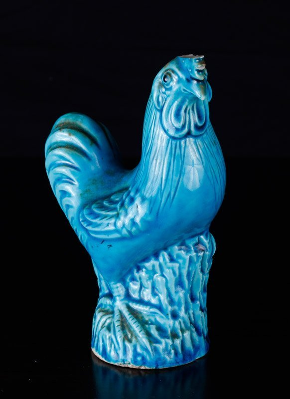 Chinese Republic Porcelain Rooster