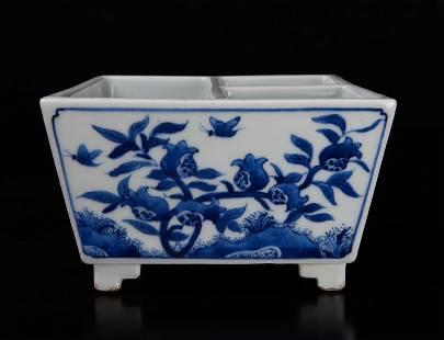 Chinese Porcelain Brush Washer