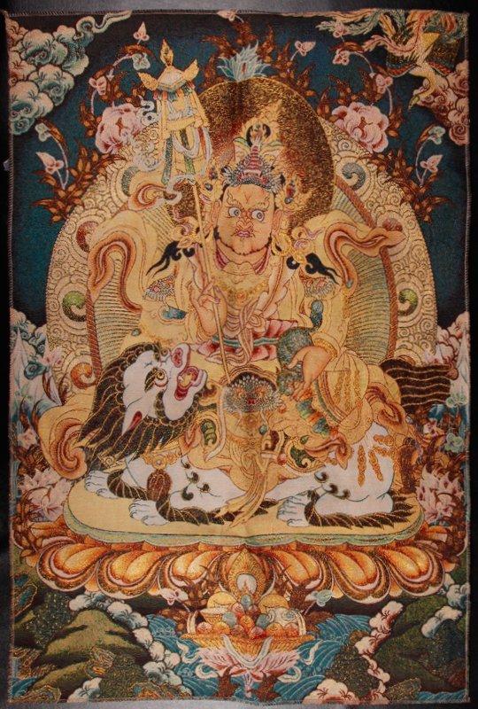 Tibetan Tangka Textile