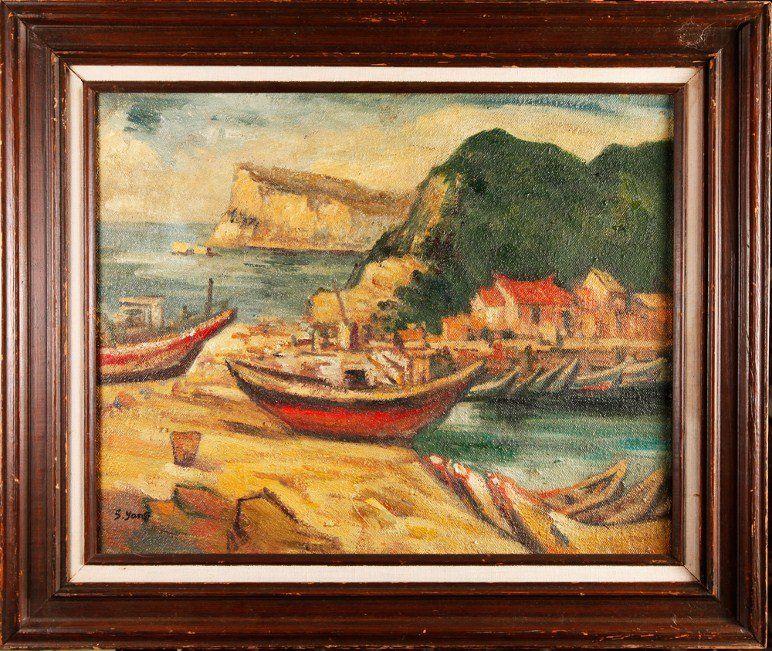 Attb. Yang Sanglang (1907-1995) Oil Painting on Canvas