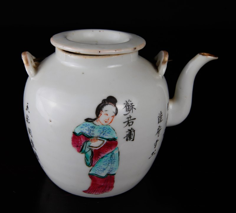 18th C. Chinese Porcelain Teapot