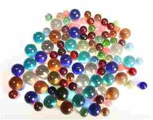 50+ Antique Glass Marbles
