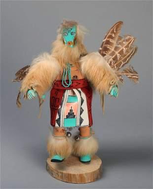 Vintage Signed Kachina Doll~Snipe