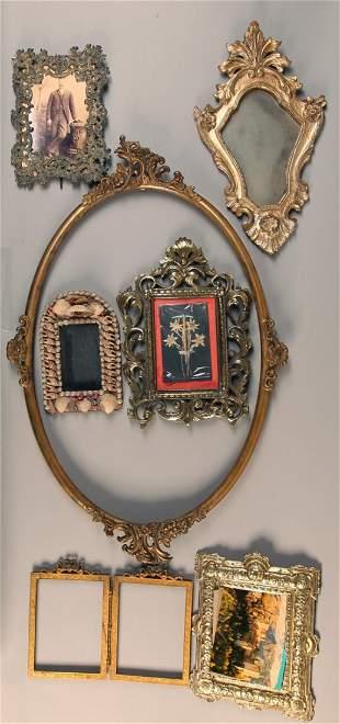 7 Antique Frames