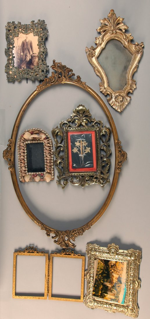 7 Antique Frames