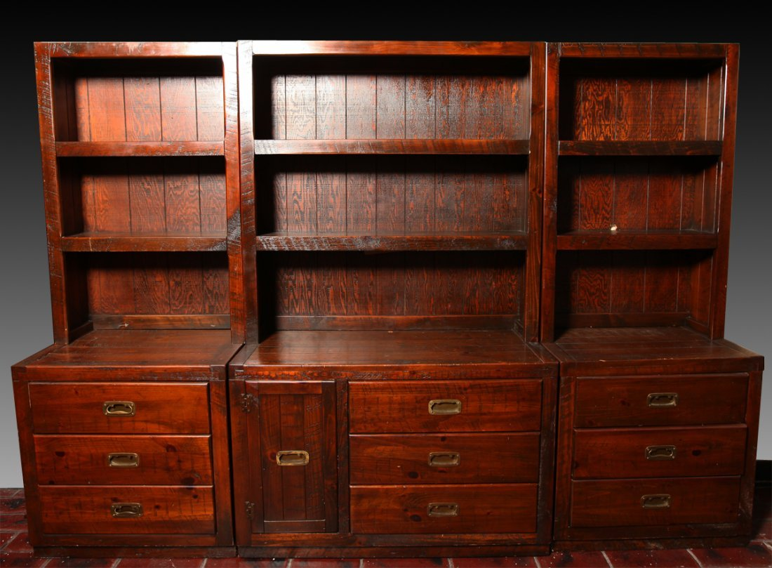 Vintage Young Hinkle 6 Piece Dresser/Shelves