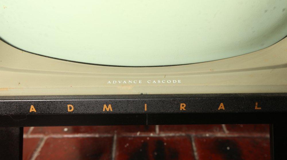 Vintage Admiral TV Advance Cascode Model #T2301DR - 3