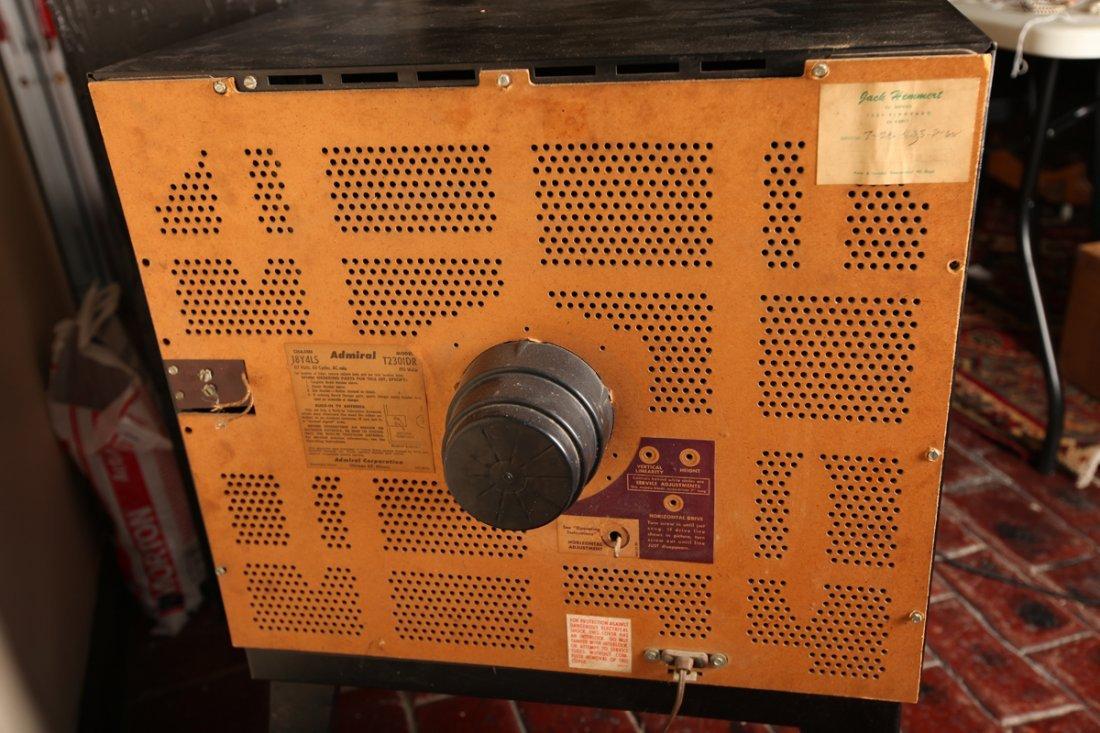 Vintage Admiral TV Advance Cascode Model #T2301DR - 6